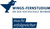 Logo WINGS - FERNSTUDIUM Master  Sales and Marketing